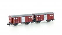 Hobbytrain 24251 SBB gedeckte Güterwagen-Set 2-tlg Ep.4