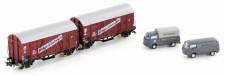 Hobbytrain 24906 DB gedeckte Güterwagen-Set 2-tlg Ep.3