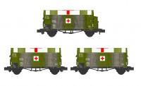 Hobbytrain 24908 DRG gedeckte Güterwagen-Set 3-tlg Ep.2