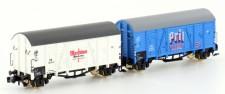 Hobbytrain 24912 DB gedeckte Güterwagen-Set 2-tlg Ep.3
