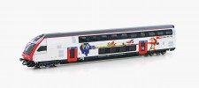 Hobbytrain 25123 SBB IC2020 Dosto-Steuerwagen 2.Kl. Ep.6