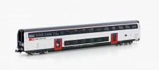 Hobbytrain 25125 SBB IC2020 Doppelstockwagen 2.Kl. Ep.6
