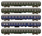 Hobbytrain 43032 DB Schnellzugwagen-Set D83/41 5-tlg Ep.3