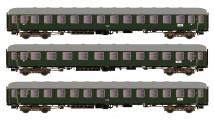 Hobbytrain 43034 DB Schnellzugwagen-Set D83/41 3-tlg Ep.3