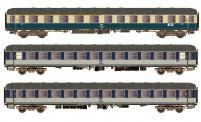 Hobbytrain 43043 DB Personenwagen-Set 3-tlg Ep.4 AC
