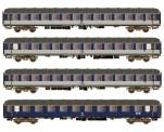 Hobbytrain 43044 DB Personenwagen-Set 4-tlg Ep.4