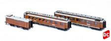 Hobbytrain 44015 CIWL Personenwagen-Set 3-tlg. Ep.1
