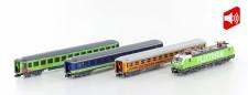 Hobbytrain 95003S FLIXTRAIN Zug-Set 4-tlg Ep.6