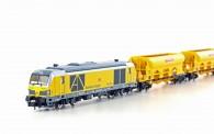 Hobbytrain 96003S DB Bahnbau Bauzug 4-tlg. Ep.6