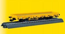 Viessmann 2316 H0 Niederbordwagen gelb 3 L