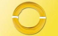 Viessmann 6864 10 m Kabelring, 0,14 mm², gelb