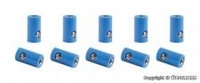 Viessmann 6883 10 Muffen blau