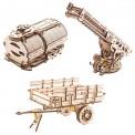 Ugears Mechanical 70018 UGEARS Erweiterungs-Setfür LKW UGM 11