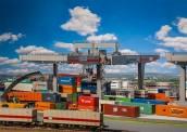 Faller 120290 Containerbrücke