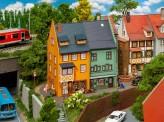 Faller 130710 2 Reihenendhäuser Kleinstadt