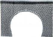 Faller 170881 Dekorplatte Tunnelportal 2-gleisig
