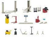 Faller 180356 Kfz-Werkstatteinrichtung