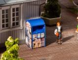 Faller 180992 Altkleidercontainer blau