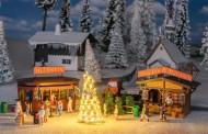 Faller 190092 2 Weihnachtsmarktbuden