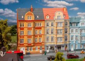 Faller 191758 2 Stadt-Reliefhäuser, 4-stöck