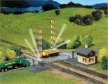 Faller 222169 Beschrankter Bahnübergang