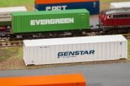 Faller 272840 40' Rib-Side Container GENSTA