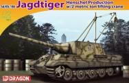 Dragon 007345 Sd.Kfz.186 Jagdtiger Henschel Prod.