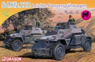 Dragon 007393 Sd.Kfz.222 Leichter Panzerspähwagen