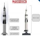 Dragon 11022 Saturn IB Rocket