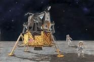 Dragon 711002 Apollo 11 LunarLanding CSM Columbia