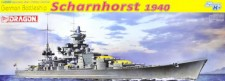 Dragon 771062 German Battleship Scharnhorst 1940
