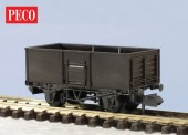 Peco KNR-44 Butterley Stahlwagen offen