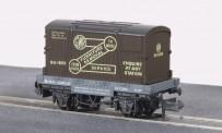 Peco NR-20 GWR-Umzüge, Conflat-Wagen mit Container