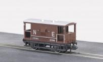 Peco NR-49E Bremswagen