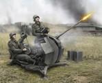 Zvezda 786117 WWII Wargame  DT.2cm FLAK 38