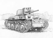 Zvezda 786130 German 38t Tank