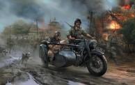 Zvezda 786142 WWII Deutsches Motorrad R-12