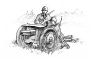 Zvezda 786145 Soviet 76mm Geschütz
