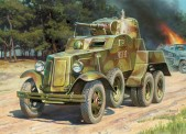 Zvezda 786149 Panzerwagen Soviet BA-10