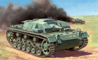 Zvezda 786155 Sturmgeschütz III Ausf.B