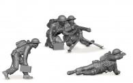 Zvezda 786167 Brit.Maschinengewehr & Crew 1939-42
