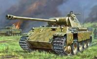 Zvezda 786196 Panther Ausf.A German Tank