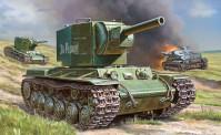 Zvezda 786202 Sovietischer Panzer KV-2