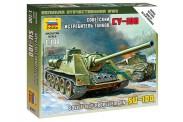 Zvezda 786211 Self-propelled Gun SU-100