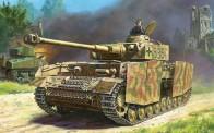 Zvezda 786240 Panzer IV Ausf.H German tank