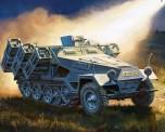 Zvezda 786243 Sd.Kfz251/1 Ausf.B 'Stuka zu Fuss'