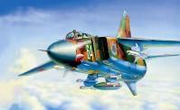 Zvezda 787218 MIG-23 MLD Soviet Fighter