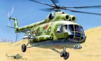 Zvezda 787230 MIL MI-8T Soviet Helicopter