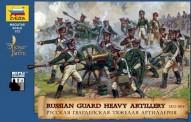 Zvezda 788045 Russ.Heavy Artillery w/Crew 1812-14