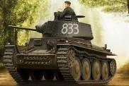 HobbyBoss 80136 Deutscher Panzer Kpfw. 38(t) Ausf. E/F